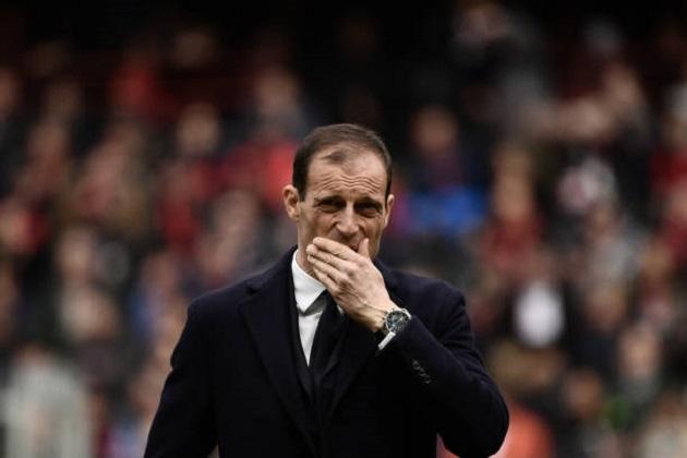 Thua trận đầu sân khách, Juventus nhận cơn thịnh nộ không tưởng từ Allegri - Bóng Đá