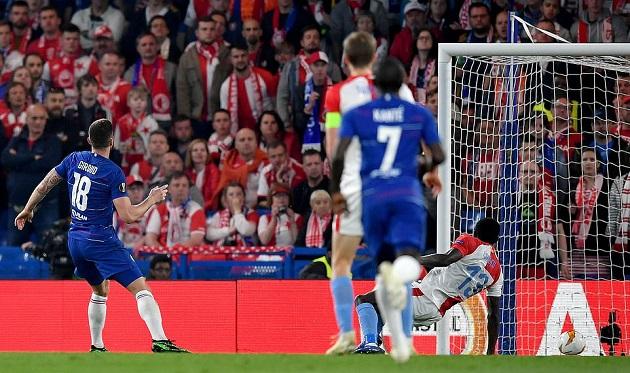 Chelsea hiên ngang vào Bán kết trong ngày Giroud thiết lập kỉ lục khó tin - Bóng Đá
