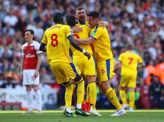TRỰC TIẾP Arsenal 2-3 Crystal Palace: Aubameyang thắp lại hi vọng (H2) - Bóng Đá