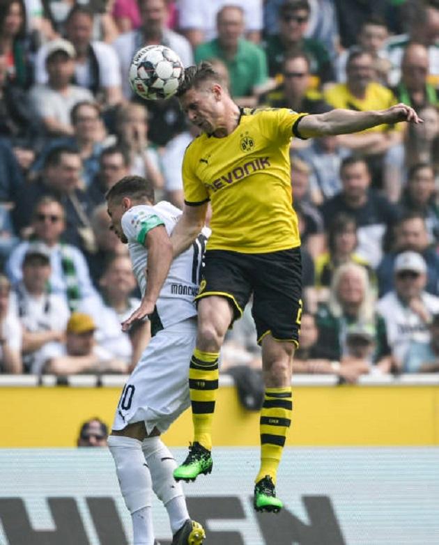 TRỰC TIẾP Monchengladbach 0-0 Dortmund: Chủ chơi hứng khởi (H1) - Bóng Đá