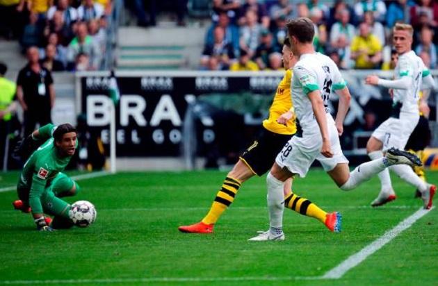 TRỰC TIẾP Monchengladbach 0-2 Dortmund: Reus lập công (H2) - Bóng Đá