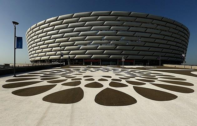 Vẻ đẹp sân Baku - Bóng Đá