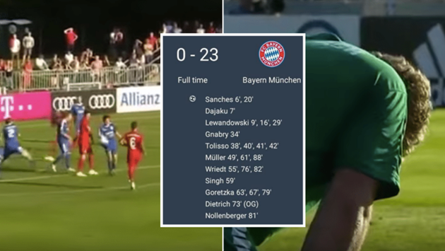 Bayern hammer amateur side 23-0 in preseason - Bóng Đá