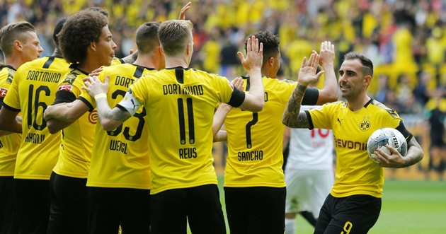 Three things we learned from Borussia Dortmund's 5-1 win over Augsburg - Bóng Đá