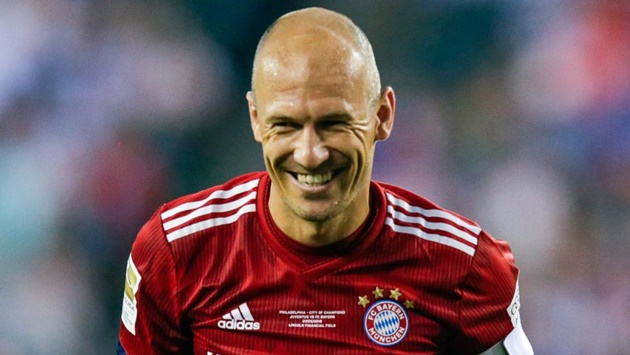 Bayern Munich legend Arjen Robben talks Thomas Müller and Philippe Coutinho - Bóng Đá