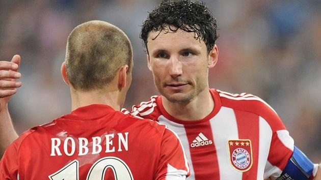 Arjen Robben backs Mark Van Bommel to coach Bayern Munich in future - Bóng Đá