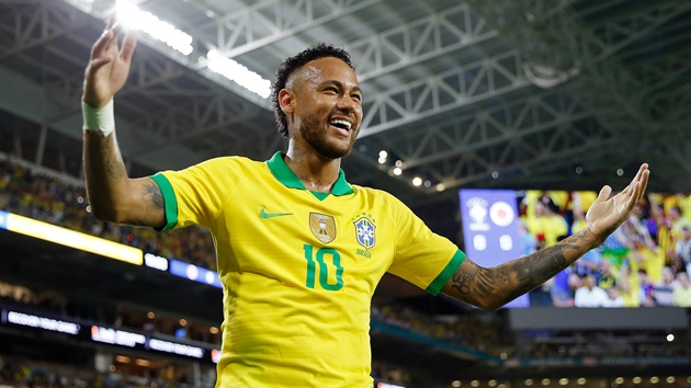 'It's always a joy to have Neymar' - PSG star's Brazil comeback delights Dani Alves - Bóng Đá