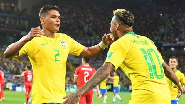 PSG's Thiago Silva: 'Amazing' Neymar 'Made Mistakes but Has No Bad Intentions' - Bóng Đá