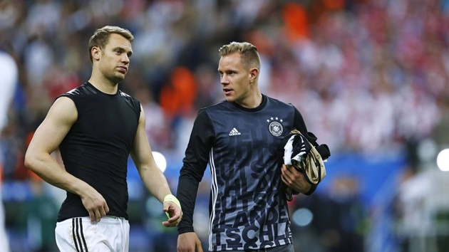"Round 3! Marc-André ter Stegen hits back at Manuel Neuer for ""inappropriate"" statements - Bóng Đá"