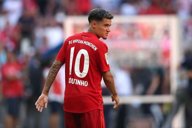 Bayern Munich willing to break team transfer record for Phillippe Coutinho - report - Bóng Đá