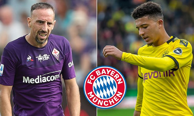 'There'd be little room for him': Jadon Sancho would struggle to get into Bayern Munich's side, insists club legend Franck Ribery - Bóng Đá