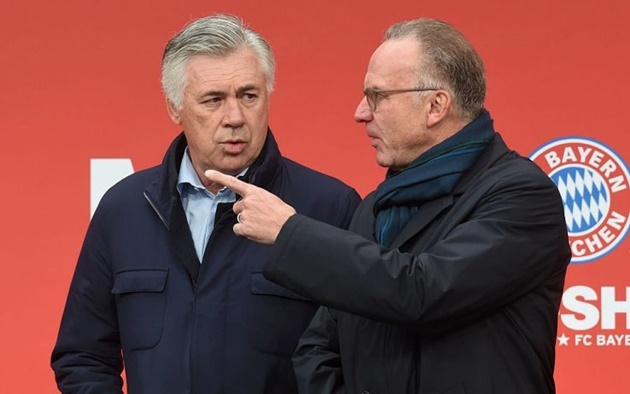 I was crying when I had to sack Ancelotti - Rummenigge - Bóng Đá