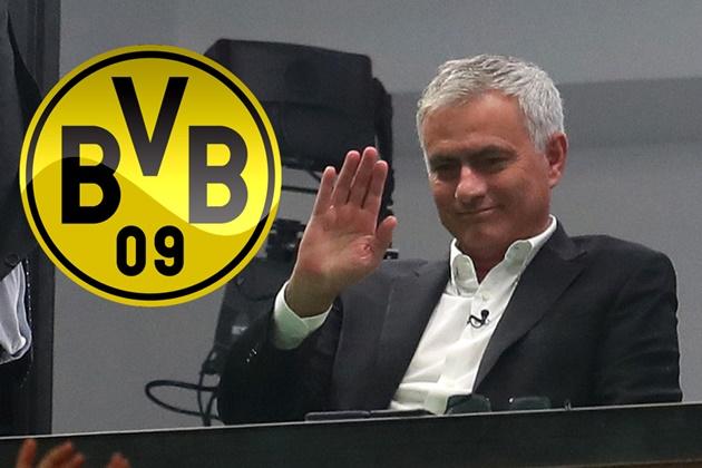 Borussia Dortmund, thinking to replace coach Favre with Mourinho - Bóng Đá
