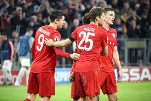 Two observations from Bayern Munich's 2-0 win against a tenacious Olympiacos - Bóng Đá