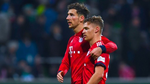 Leon Goretzka talks about how much he loves playing with Kimmich in midfield! - Bóng Đá
