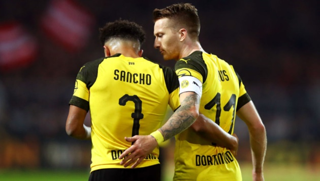 Sancho and Reus could miss Bayern Munich clash, Dortmund boss Favre confirms - Bóng Đá
