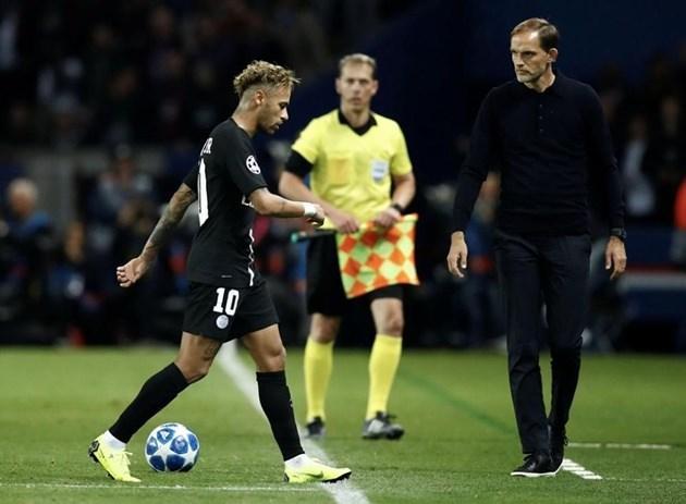 Ham vui, Neymar lại khiến HLV Thomas Tuchel phiền lòng - Bóng Đá
