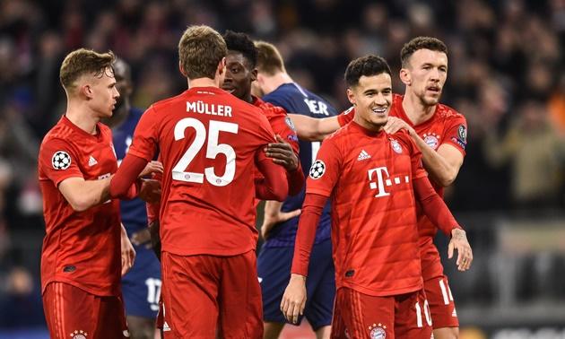 Bayern Munich làm nên lịch sử Champions League sau chiến thắng 3-1 trước Tottenham - Bóng Đá