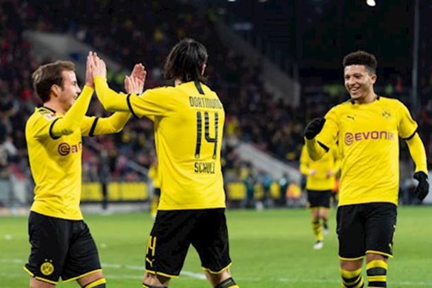 Tỏa sáng giúp Dortmund giành chiến thắng, Sancho làm được điều mà Messi chưa làm được - Bóng Đá