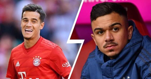 Sao trẻ Bayern che giấu thân phận với Coutinho - Bóng Đá