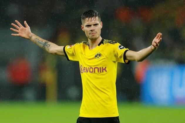 Julian Weigl của Borussia Dortmund sắp ký HĐ với Benfica - Bóng Đá