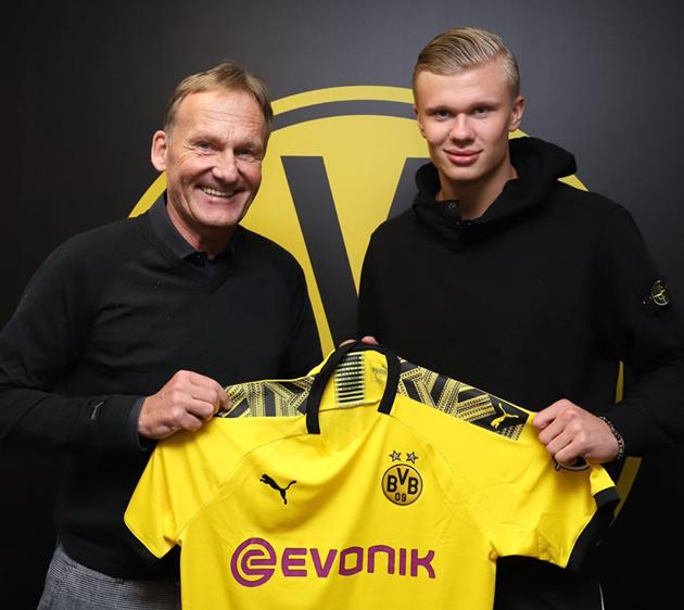 Erling Haaland và tham vọng của Dortmund  - Bóng Đá