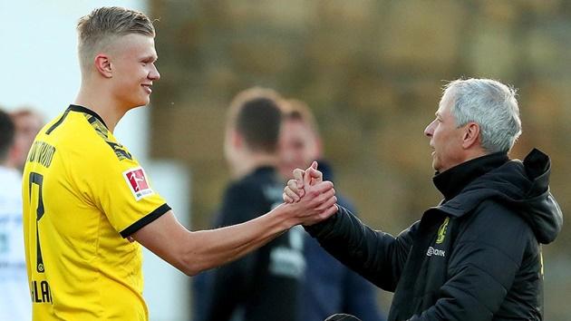 Dortmund monitoring Haaland ahead of potential Bundesliga debut - Bóng Đá