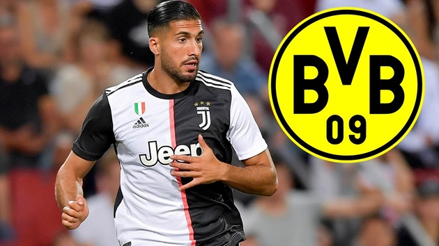 Ruhr Nachrichten: Borussia Dortmund unlikely to sign Juventus midfielder Emre Can - Bóng Đá
