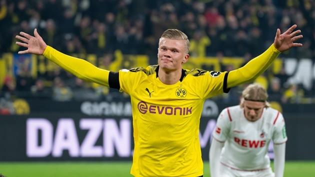 Borussia Dortmund teammates rave about free-scoring Erling Haaland - Bóng Đá