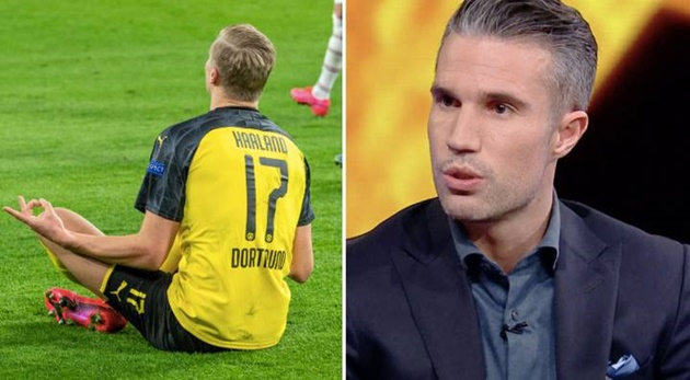 Robin Van Persie Says Erling Haaland Is 'An Unbelievable' Player - Bóng Đá
