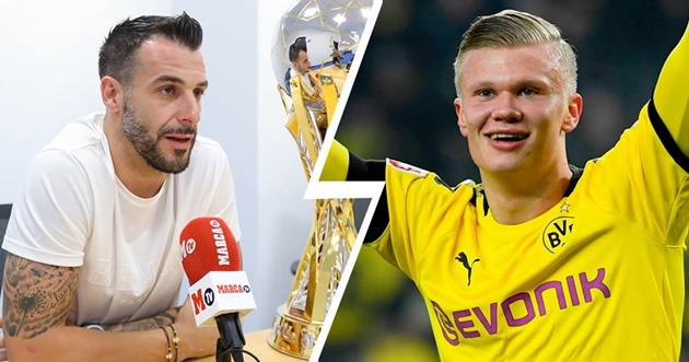 'He'd be a perfect fit': Alvaro Negredo believes Real Madrid should target Erling Haaland only WEEKS after the teenager moved to Borussia Dortmund - Bóng Đá