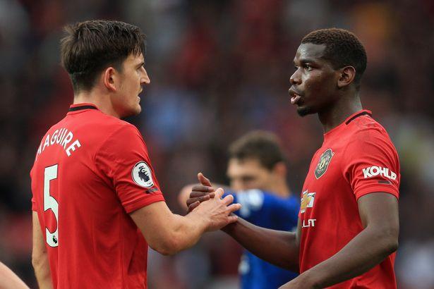 Paul Pogba reveals Harry Maguire's new nickname after defender's Man Utd debut - Bóng Đá