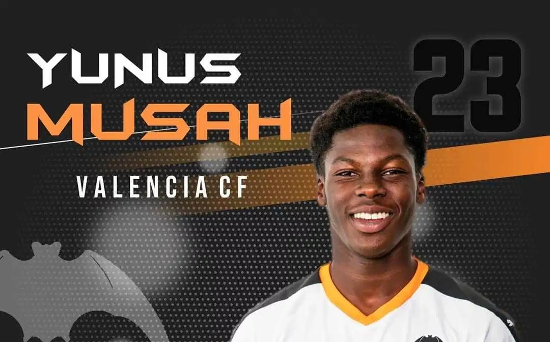 Yunus Musah confirms his departure from Arsenal to join Valencia - Bóng Đá