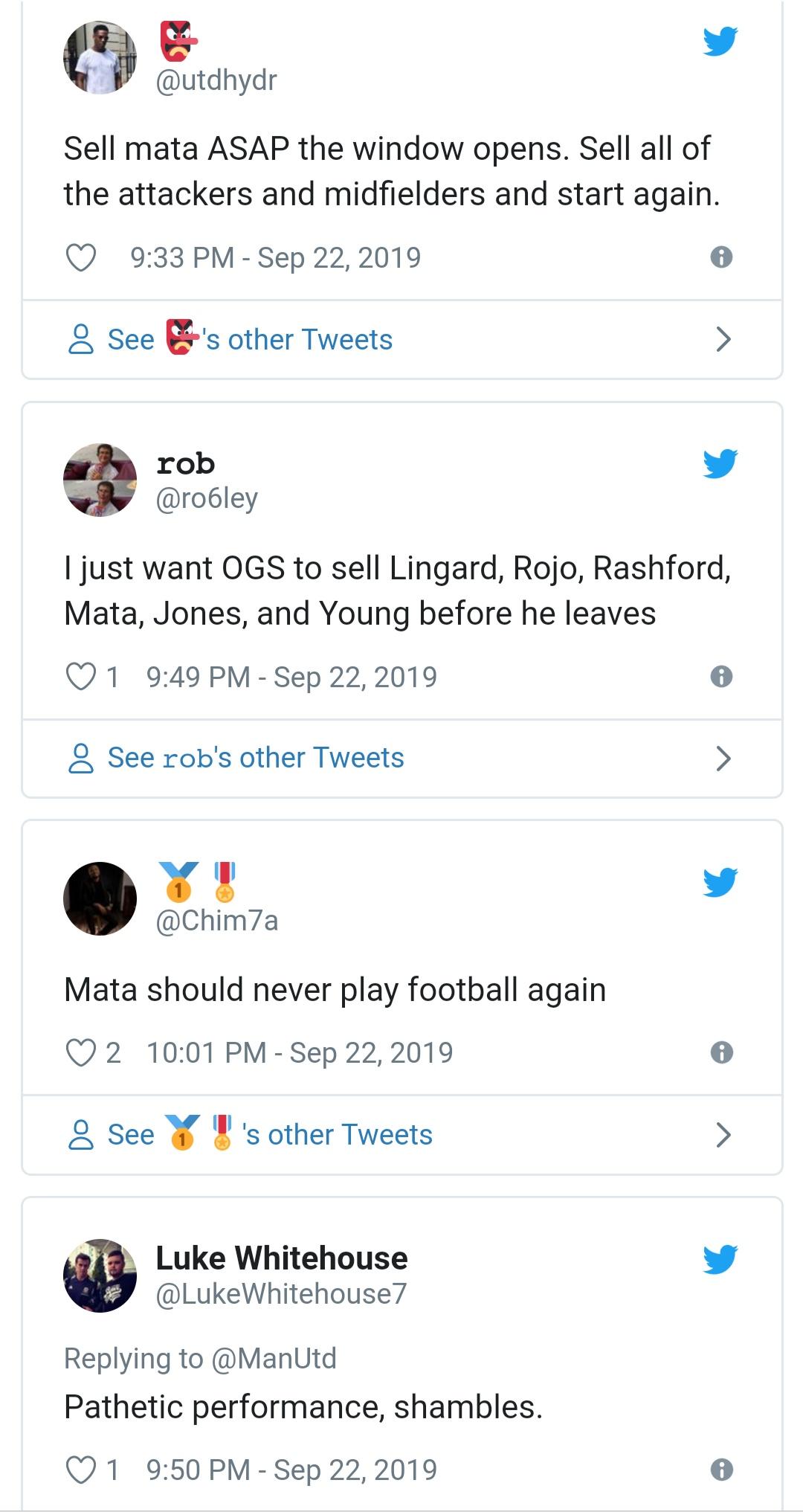 man utd fans react to players performance - Bóng Đá