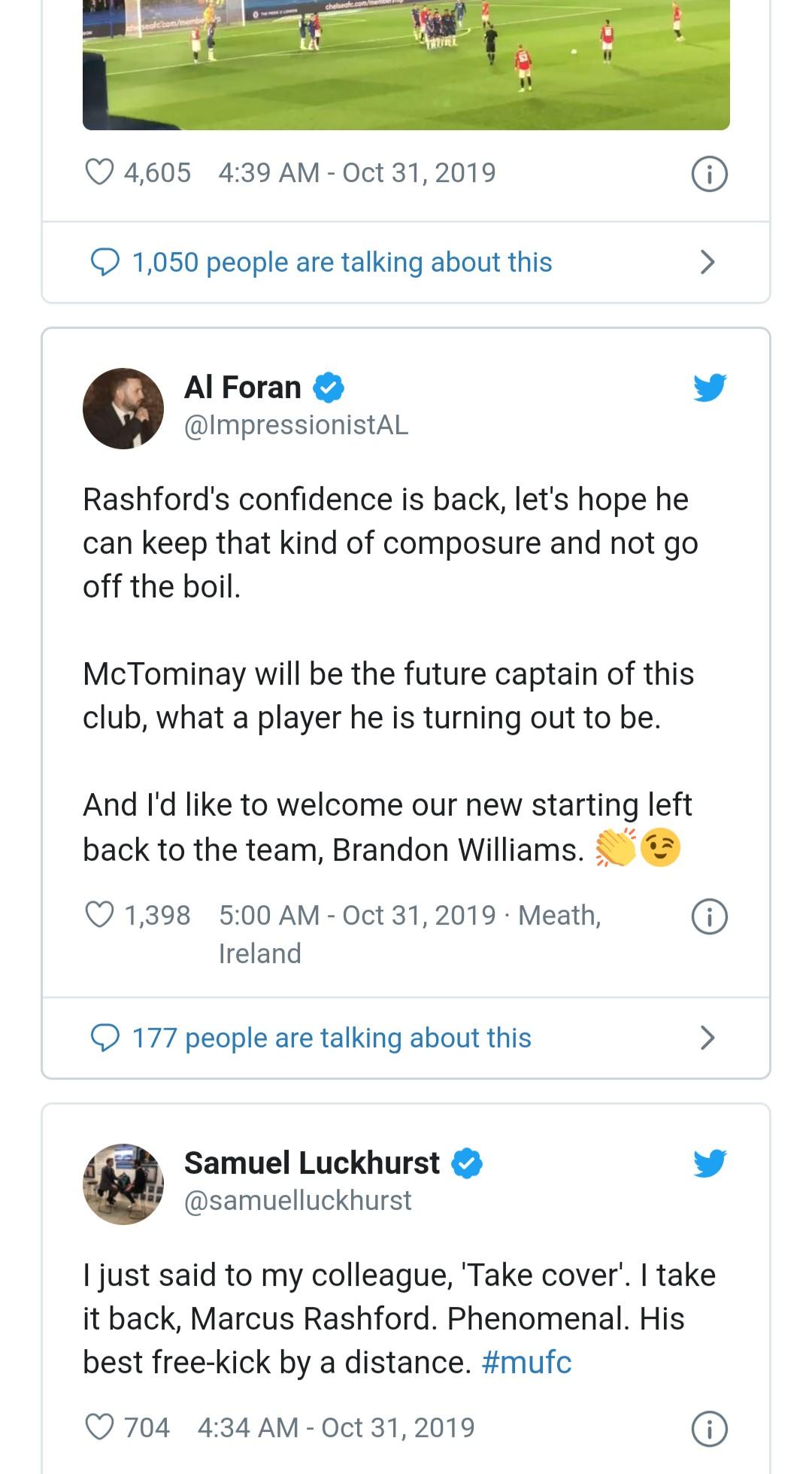 Man Utd fans hail Rashford - Bóng Đá