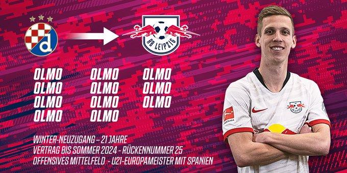 dani olmo joins rb Leipzig - Bóng Đá