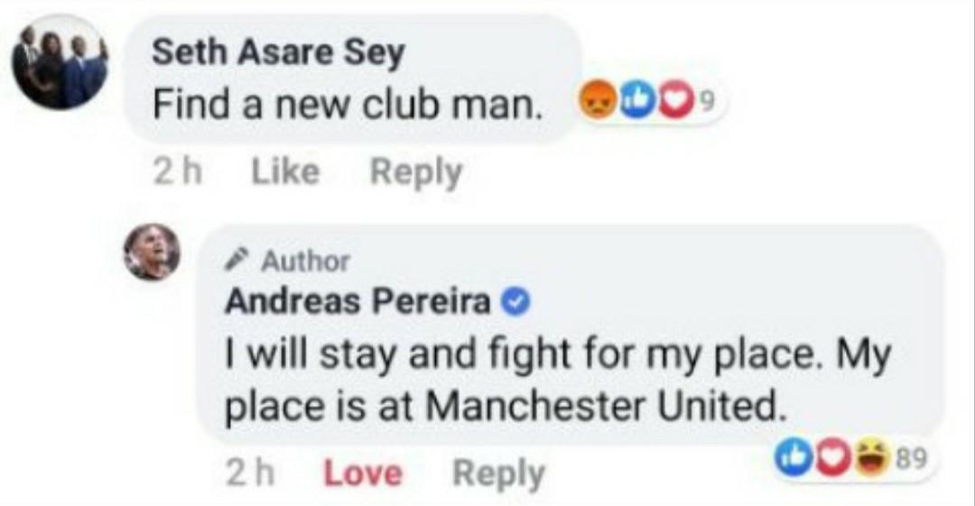 XONG! Andreas Pereira lên tiếng, đã rõ khả năng rời Man Utd - Bóng Đá