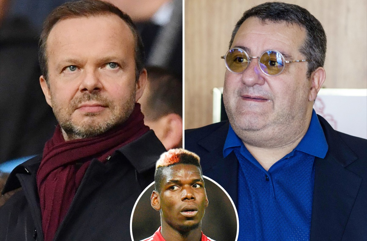 man utd react to woodward and raiola's negotiation - Bóng Đá