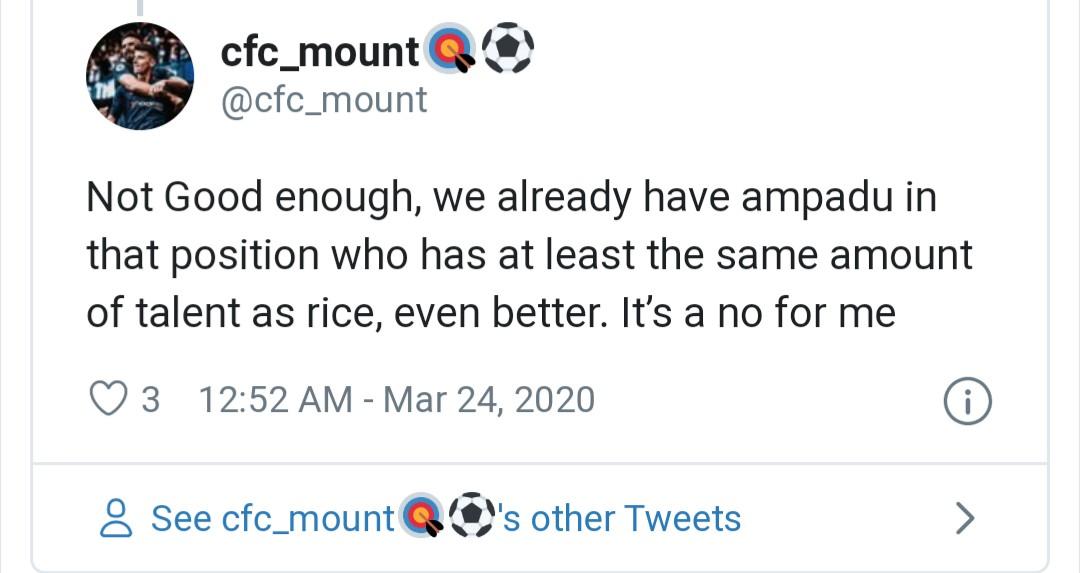 chelsea fans react to Declan Rice transfer - Bóng Đá