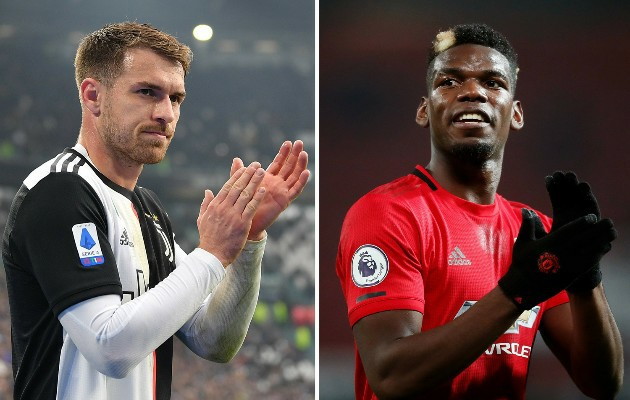 Juventus ready to offload Ramsey to raise fund for Pogba - Bóng Đá