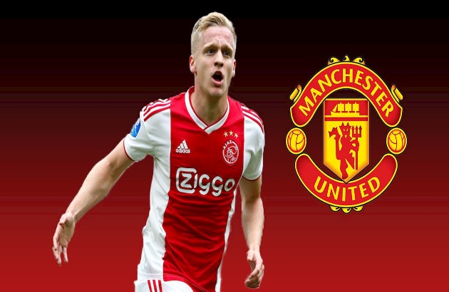 Van de Beek - Lời khẳng định của Man United dành cho Jadon Sancho