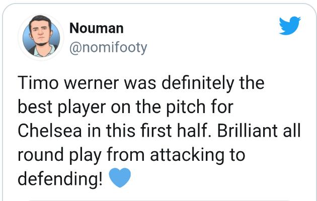 Chelsea fans react to werner debut - Bóng Đá