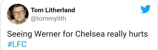 Liverpool fans react to Werner's debut - Bóng Đá