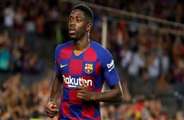 Liverpool asked Barcelona to loan Dembele  - Bóng Đá