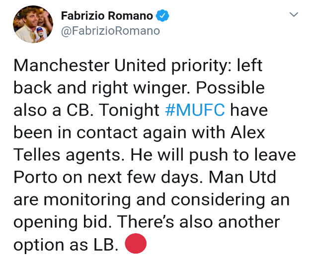 Man United to sign lb, rw and cb - Bóng Đá