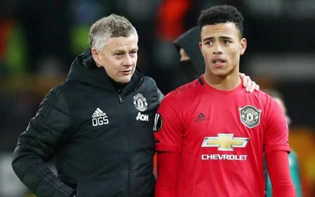Ole Gunnar Solskjaer urges Man Utd star Mason Greenwood to work on heading as last attribute to become perfect No9 - Bóng Đá