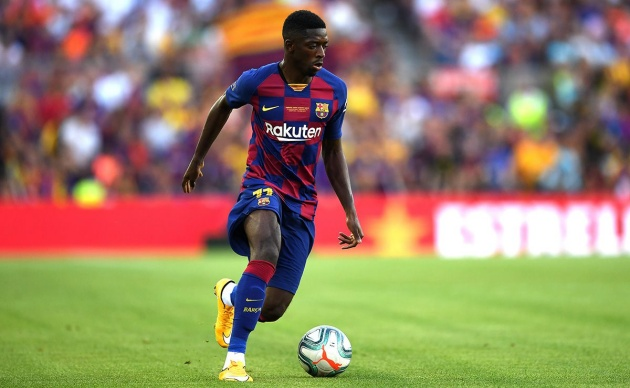 Man United rules out Dembele transfer - Bóng Đá