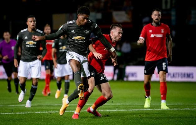 Man United fans react to Greenwood's performance vs Luton - Bóng Đá