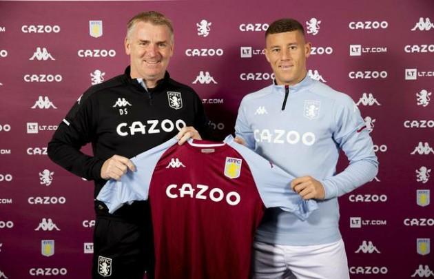 Barkley joined Aston Villa  - Bóng Đá
