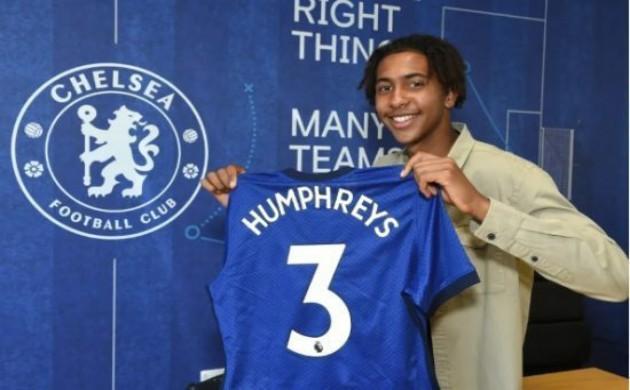 Humphreys signed pro deal - Bóng Đá